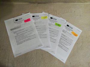 dokument projektów